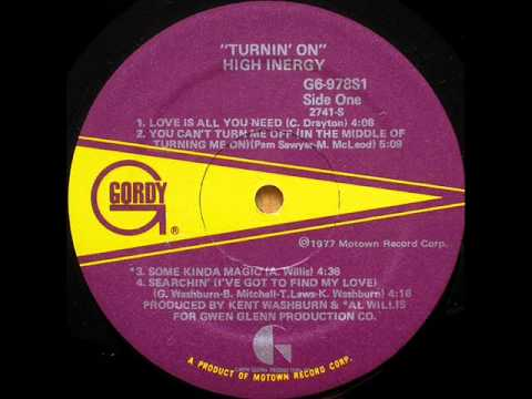 High Energy - You Can't Turn Me Off