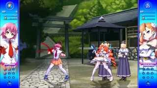 Arcana Heart 3 Love MAX!!!!! Story Mode Heart Aino