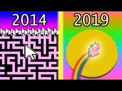 evolution of .io games (2014-2019)