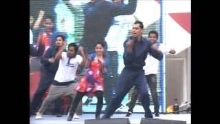 Dance Performance based on ACG Theme @AutoExpo2014