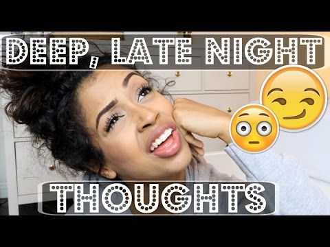 Thumbnail: high or DEEP, LATE NIGHT THOUGHTS | Lizzza