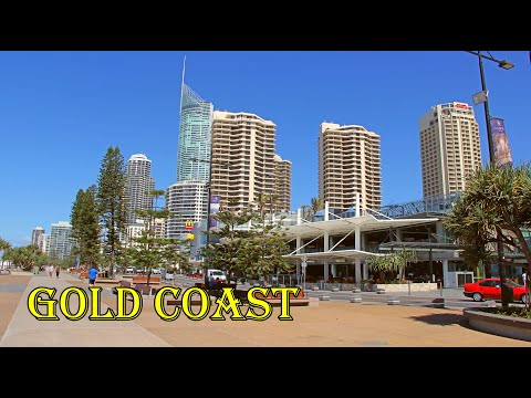 Surfers Paradise Beach & driving around Gold Coast