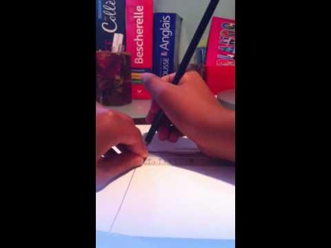 TUTOComment créer une carte postale (partie 1) - YouTube