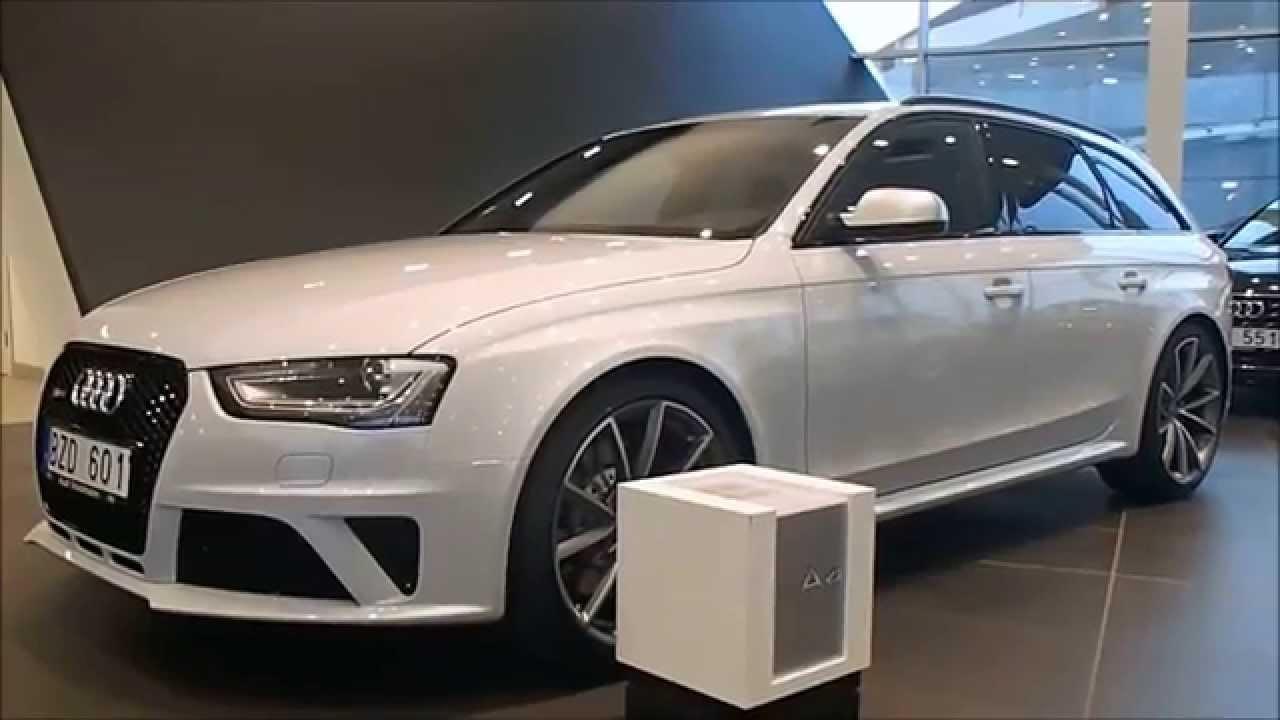 Suzuka Grey 2014 Audi Rs4 Avant With Black Optic