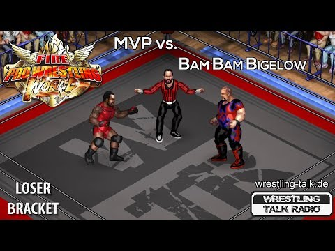WTR Fire Pro Wrestling Tournament [Loser Bracket RD4] MVP vs. Bam Bam Bigelow