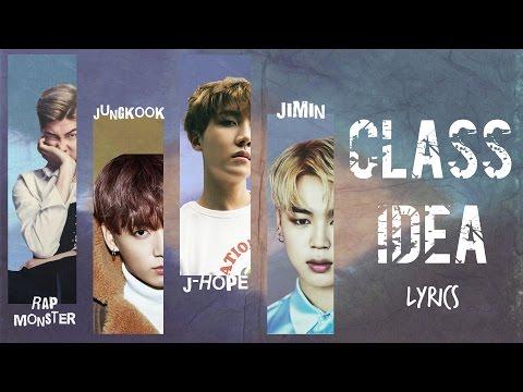BTS - '교실 이데아 (Class Idea)'(Cover)[2016 KBS Gayo Daechukje] [Han Rom Eng lyrics]