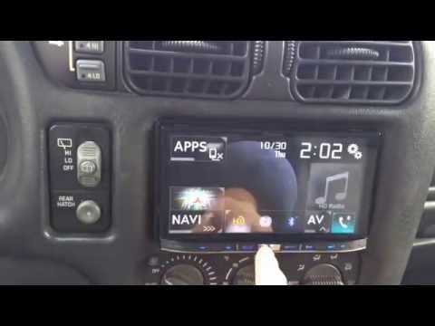 1st Post. 2001 Chevy TrailBlazer With The New Pioneer AVIC-8000NEX