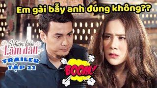 Muôn Kiểu Làm Dâu -Trailer Tập 22 - Phim Mẹ chồng nàng dâu -  Phim Việt Nam Mới Nhất 2019 - Phim HTV
