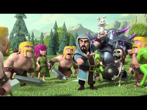 Clash Of Clans Newest Trailer - Magic (Wizard)