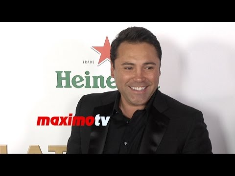 Oscar De La Hoya | 2014 Latinos de Hoy Awards | Red Carpet