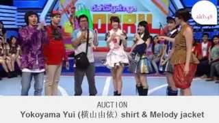philipine people won a auction Yokoyama Yui (横山由依) t-shirts wit...