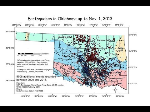 United States Geological Survey confirms it: Fracking Causes Earthquakes and not just in Oklahoma