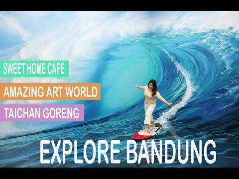 UMIVLOG #1 - Kuliner Murah Bandung & Amazing Art World