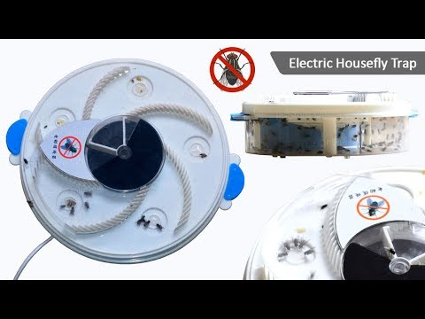 electronic housefly trap youtube. Black Bedroom Furniture Sets. Home Design Ideas