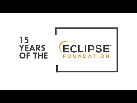 15 Years of the Eclipse Foundation