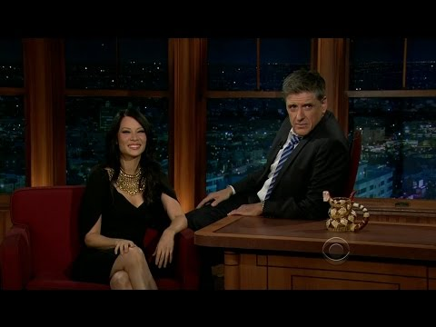 Late Late Show with Craig Ferguson 1/16/2012 Lucy Liu, Kevin Sorbo