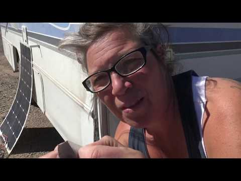 I Repair the Fiberglass and Trim on my Winnebago RV+  Giveaways!