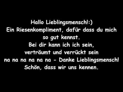 Lieblingsmensch Namika Lyrics