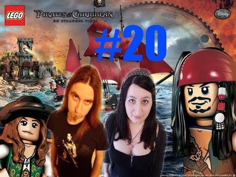 Lego Pirates of the Caribbean Level 20 The Fountain of Youth Co-op All Treasure, Collectibles Guide