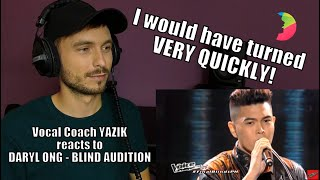 Download Vocal Coach YAZIK reacts to Daryl Ong – Paano (Blind Auditionon The Voice)