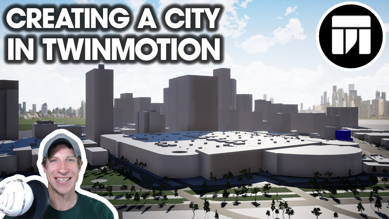 Getting Started RENDERING IN TWINMOTION (EP 11) - Creating A CITY