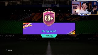 88+ 5x Pack.. But testing my luck vs the stream
