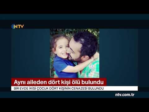 Antalya'da 4 kişilik aile evlerinde ölü bulundu (Siyanür şüphesi araştırılıyor)