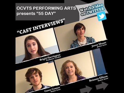 """OCVTS Performing Arts """"55 Days"""" Cast Interviews"""