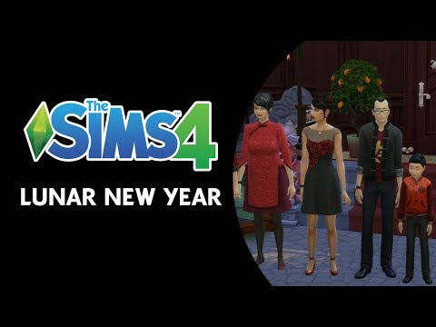 """The Sims 4: First Look at the """"Lunar New Year"""" Content thumbnail"""