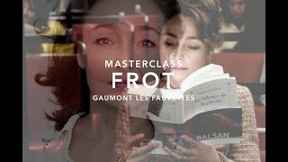 Masterclass - Catherine Frot
