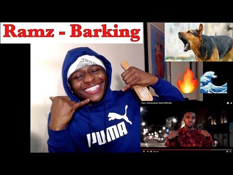 First Time Listening To Ramz| Ramz - Barking [Music Video] | GRM Daily-REACTION (CATCHIEST UK SONG?)