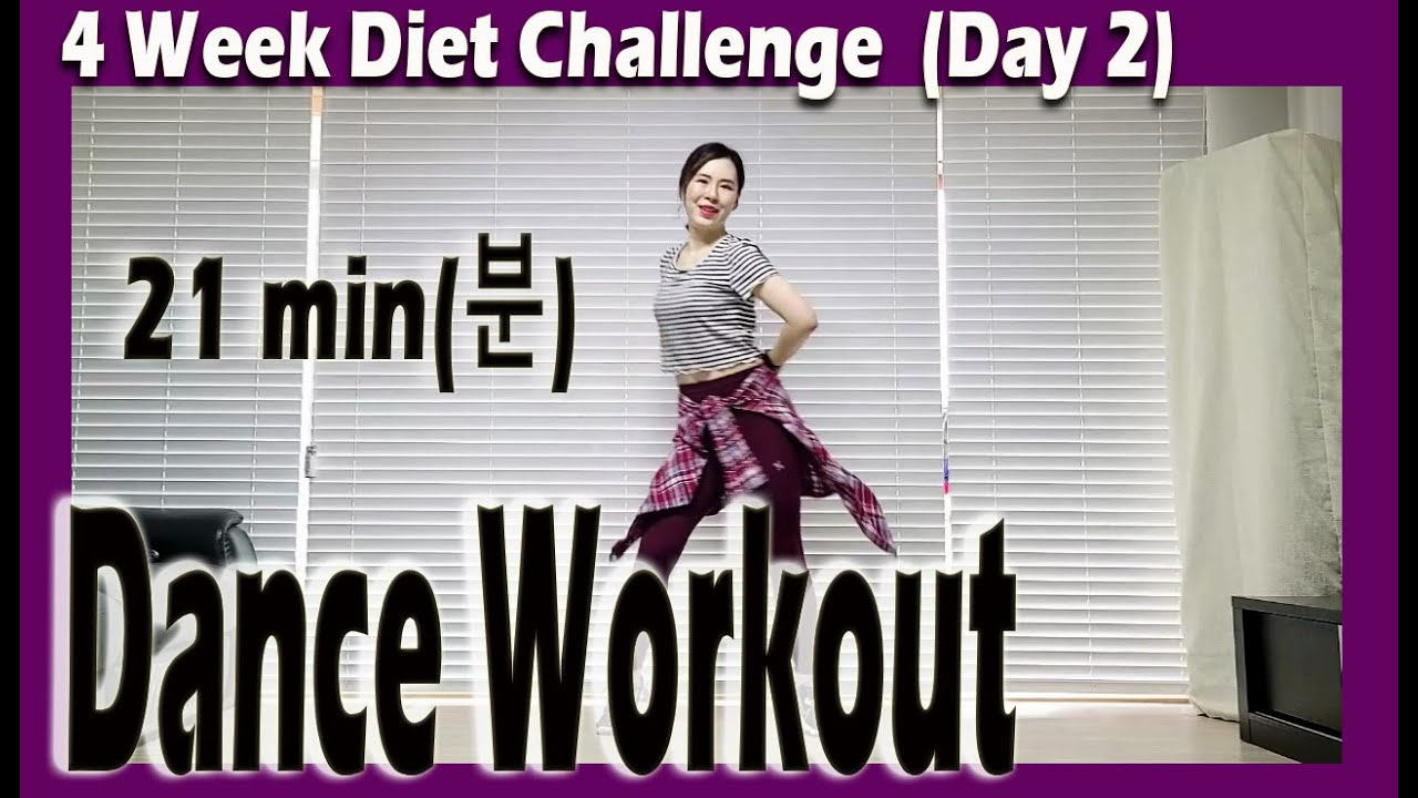[4 Week Diet Challenge] Day 2 | 21 minute Dance Diet Workout | 21분 댄스다이어트 | 홈트 | Sunny Funny Zumba