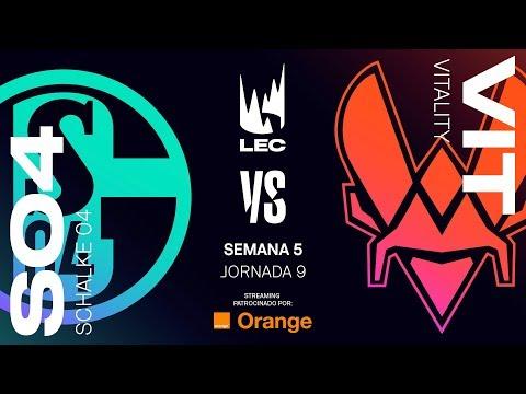 SCHALKE 04 vs VITALITY | LEC | Summer Split [2019] League of Legends
