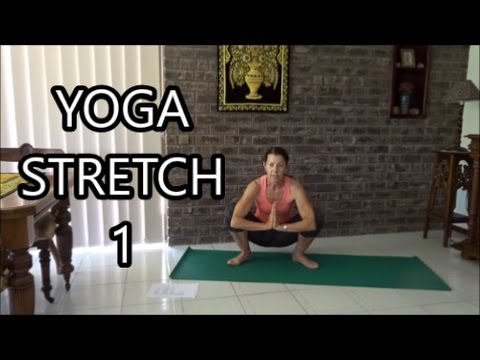 """Yoga Stretch 1 """"Detox with your breath"""" with Katy Mair"""
