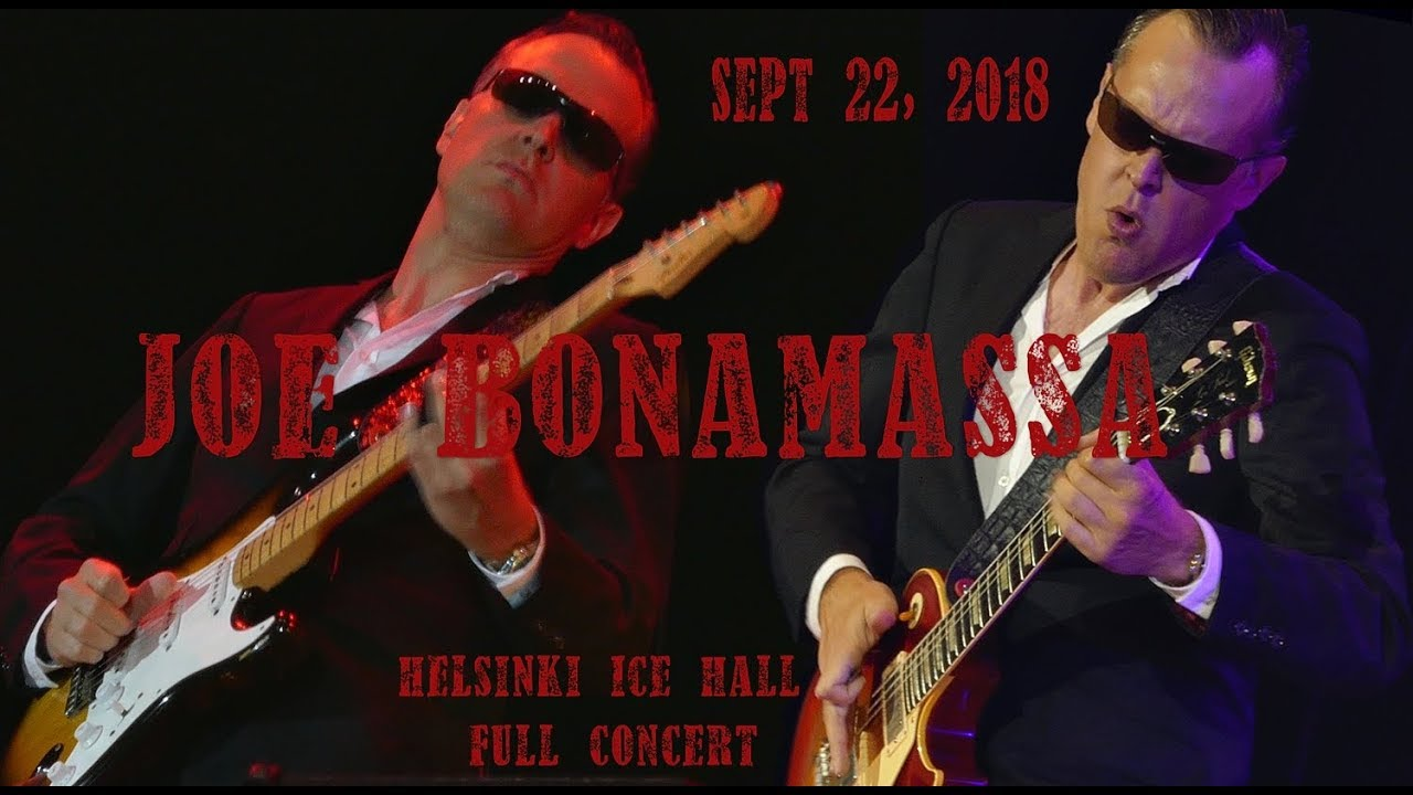 Download Joe Bonamassa Full Concert Helsinki Sept 22, 2018