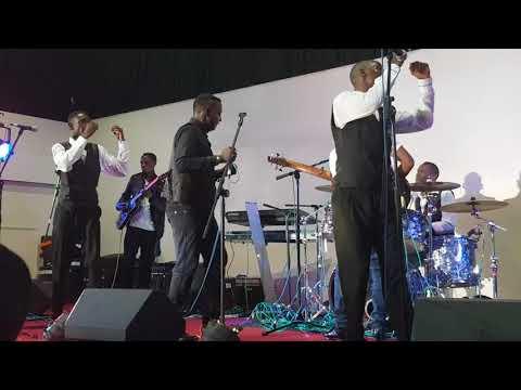 Sulumani Chimbetu performs at Summer Fiesta London 2018