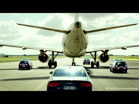 """The Transporter Refueled - """"Airplane"""" Clip  [HD] thumbnail"""