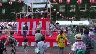 大銀座盆踊り「ダンシングヒーロー(Eat you up)」2018