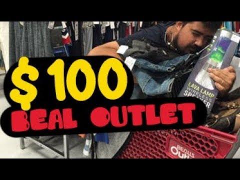 TORRANDO $100 na loja BEALLS OUTLET