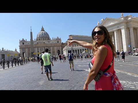 Searching the Vatican for the Pope and Tom Hanks! Rome Trip #4