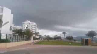Cala Millor Mallorca windiges Wetter 2016/06/14