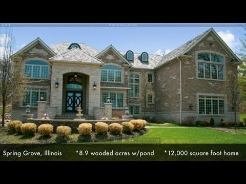 Luxury Home For Sale in Spring Grove, IL - contact Jayne Petty