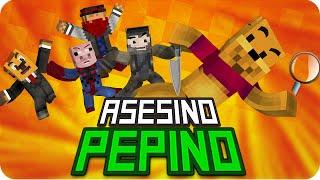 ASESINO PEPINO! | Sarinha, Exo, Gona, Macundra y Luh en Murder in Minecraft