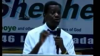 Defender of the Defenceless Pastor E A Adeboye preaching 2015