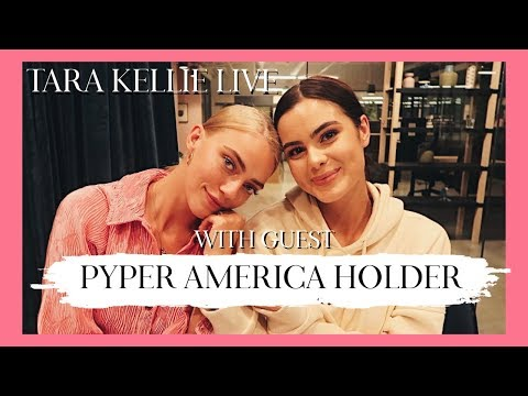 TARA KELLIE LIVE WITH PYPER AMERICA SMITH HOLDER