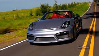 Porsche Boxster Spyder 2016 Videos