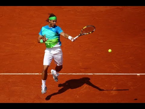 Nadal Vs Almagro Roland Garros 2010 QF Highlights HD