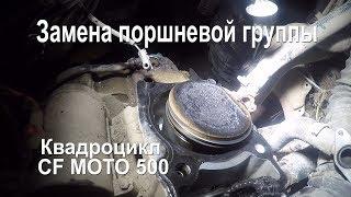 Ремонт квадроциклов | Ремонт двигателя | Замена поршневой группы на квадроцикле CF Moto 500