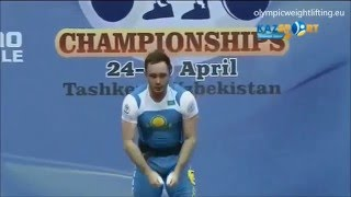 2016 Asian and European Weightlifting Best Lifts, Men 85 kg