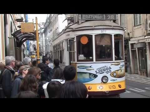 Portugal - Lissabon - Vom Parque Eduardo VII zum Praca do Comercio